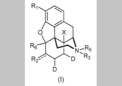 Izotóptartalmú morfin származékok