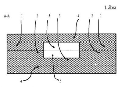 Seb gyógyulását elősegítő többrétegű szerkezet varratok mentén kialakuló Dehistentia kezeléséhez