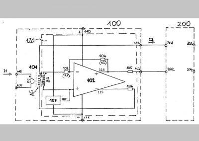 Aktív váltakozóáramú áramátalakító árammérésre alkalmas elrendezéshez