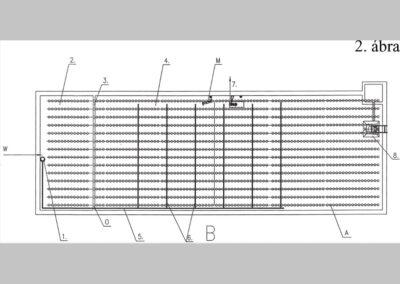 Folyamatos betáplálású szennyvízkezelő reaktor és eljárás szennyvíz kezelésére