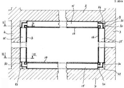 Hőenergetikai rendszer épületek vagy épületrészek belső terének fűtéséhez és/vagy hőegyensúlyának fenntartásához