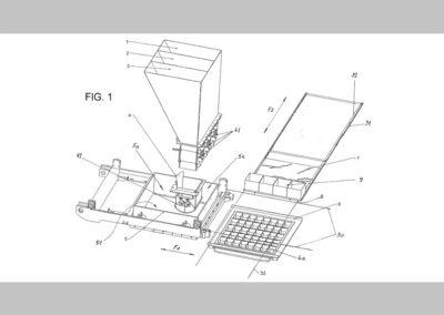 Berendezés és eljárás erezett járófelületű térburkoló elem előállítására